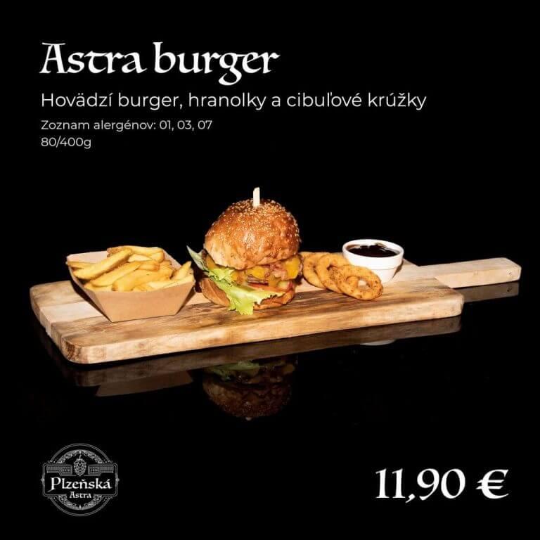 Astra burger